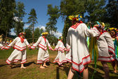 Celebrating Ivana Kupala in Russia — Stock Photo