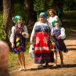 Celebrating Ivana Kupala holiday in Russia — Стоковая фотография