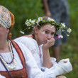 Celebrating Ivana Kupala holiday in Russia — Stok fotoğraf