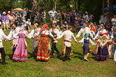 Celebrating Ivana Kupala holiday in Russia — Stockfoto