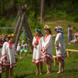 Celebrating Ivana Kupala Holiday in Russia — Foto de Stock