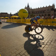 Unidentified participant of 70th Tour de Pologne cycling 7th stage race — Stock Photo #30009923