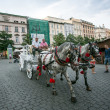 Rynek Glowny - historical center of Krakow — Stock Photo #30009967