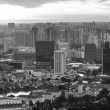 A view of city from roof Marina Bay Hotel — Stock Photo #30010309