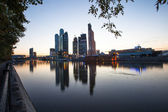 The Moscow International Business Center — Stockfoto