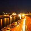 Embankment of the Moskva River near the Kremlin — Stock Photo