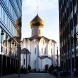 Temple of St. Nicholas in Tverskaya Zastava — Stock Photo #30688043