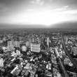 A view on the city from Bayok Sky hotel — Stockfoto