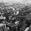 A view on the city from Bayok Sky hotel — Stock fotografie