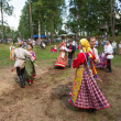Local people celebrated IvKupalDay — Stock Photo #30688561