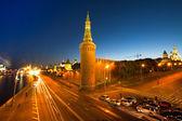 Embankment of the Moskva River near the Kremlin — Стоковое фото