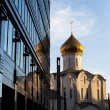 Temple of St. Nicholas at TverskayZastavin Moscow — Stock Photo #30692979