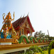 Buddhist temple on the Koh Chang island — Stockfoto