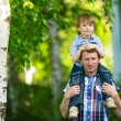 Father with his small son — Stock Photo #30693207