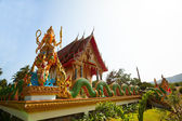 Buddhist temple on the Koh Chang island — Stock Photo