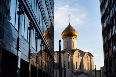 Temple of St. Nicholas at Tverskaya Zastava in Moscow
