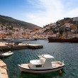 View of Hydra town in Greece — Stock Photo