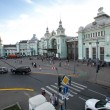 View of Belorussky railway station — Stok Fotoğraf #30969351