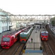 Stock Photo: View of Belorussky railway station