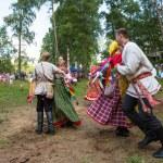 Local people celebrated Ivan Kupala Day — Stock Photo #30969683