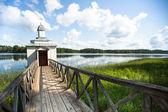 Orthodoxe kloster der tervenichi, russland. — Stockfoto