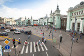 View of Belorussky railway station — ストック写真
