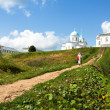 Stock Photo: Intercession nunnery orthodox monastery of Russia (Tervenichi)