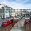 Moscow. View of Belorussky railway station — Stockfoto #31119737