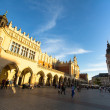 Stock Photo: View of Main Square in Krakow, Poland