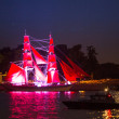 Celebration Scarlet Sails show during White Nights Festival — Stock Photo #31119881