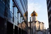 Temple of St. Nicholas in Moscow — Stock Photo