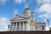 Helsinki Cathedral on Senate Square, Finland — Stock Photo
