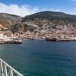 View of Hydra town — Stockfoto