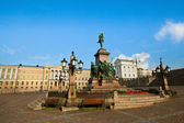 Senate Square in Helsinki, Finland. — Stock Photo