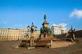 Senate Square in Helsinki, Finland. — Stock Photo