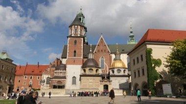 Wawel Castle in Krakow, Poland. — Stock Video