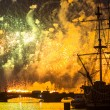 Celebration Scarlet Sails show during White Nights Festival — Stock Photo #31782703