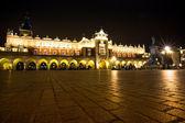 Vista da praça do mercado principal — Foto Stock