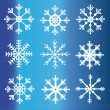 Snowflake — Vector de stock #31836793