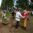 Local people celebrated Ivan Kupala Day — Photo