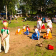 Local people celebrated Ivan Kupala Day — ストック写真