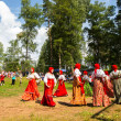 Local people celebrated IvKupalDay — Stockfoto #31894185
