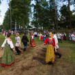 Local people celebrated Ivan Kupala Day — Φωτογραφία Αρχείου