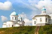 Mosteiro ortodoxo de tervenichi na rússia. — Foto Stock
