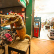 crocodile de siamois en cuir boutique — Photo