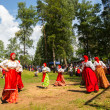 Stock Photo: Historical festival of medieval culture Ladogafest