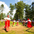 Local people celebrated Ivan Kupala Day — Foto Stock