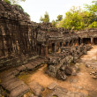 Stock Photo: SIEM REAP, CAMBODI- DEC 13: Angkor Wat