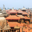 Top view of the Durbar Square (Basantapur) — Foto de Stock