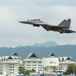Su-30MKM (Sukhoi, NATO reporting name: Flanker-C) — Stock Photo